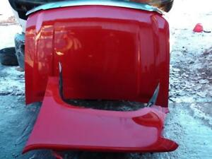 2007-2014 Chevy Avalanche Suburban Tahoe Left Fender Hood Red Bumper Cover Grille