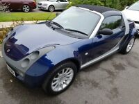 Smart Roadster 2004 54 reg. ONLY 17,721 miles