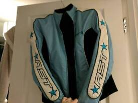 Size 12 fitted RST ladies biker jacket