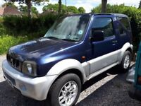 Suzuki Jimny, 02 plate, hardtop convertible, low mileage, good condition