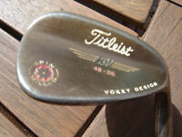 TITLEIST VOKEY SPIN MILLED WEDGE. 48 DEGREES