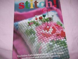 Cath Kidson stitch book,