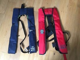 Lifejackets x 2 Automatic 150N Self Righting