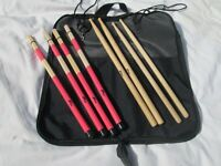 Drums - Various Drum Sticks, Hot Rods, Brushes Etc - £5 each pair