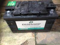 Caravan leisure battery 12 volts