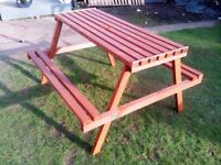 Brand new outdoor bench