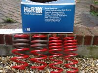 H&R Lowering Springs for Audi A5 / A4 - Part No: 29059-2