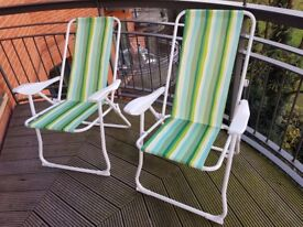 2 Beach Chairs