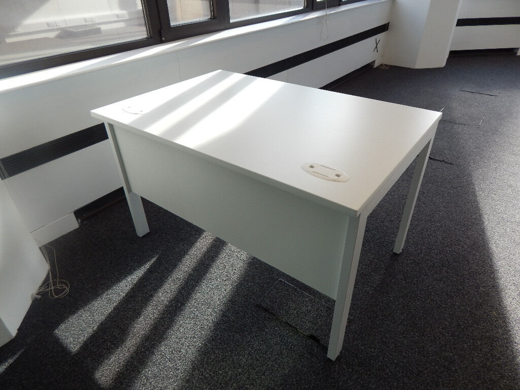1200mm office desks in Uber cool white 3 in stockin Highgate, LondonGumtree - 1200mm x 800mm office desks in Uber cool white! c/w modesty valance and matching rugged frame. Big enough to cope and compact to make a difference when space is at a premium. Any questions ask James 07787177136
