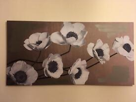 FLOWERS CANVAS