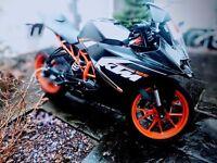 2016 KTM RC125 Motorbike