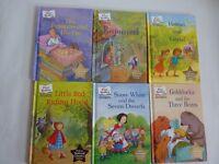 6 CHILDREN'S FAIRY TALE BOOKS