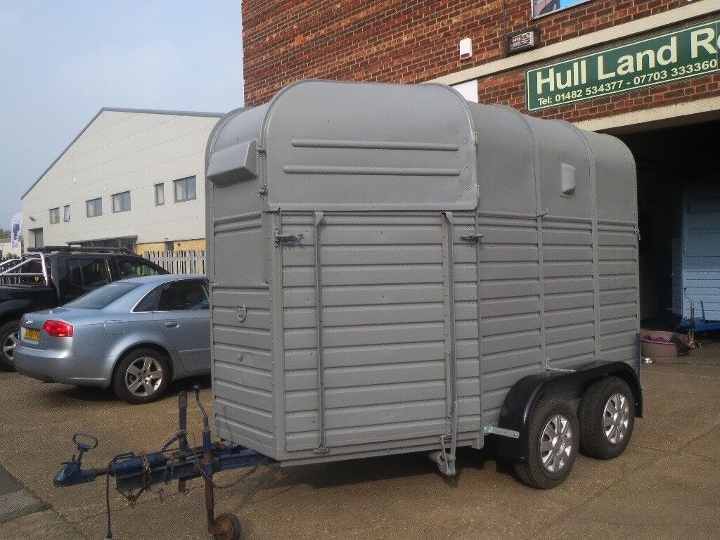 WANTED RICE BEAUFORT HORSE TRAILER CASH ON COLLECTION GOOD PRICES PAID , WANTED