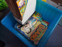 Box Of 70+ Old Beano Comics + Box Included!