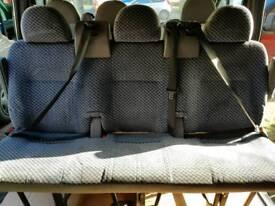 Crew cab seats triple seats mk6 transit tourneo