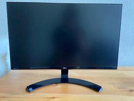 LG 23-Inch IPS Cinema Screen Monitor (1920x1080, VGA, DVI, HDMI)