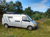 FORD TRANSIT 190 LWB Motorhome All MOHO features included. MOT failure. Hence the price