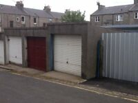 Lock up garage to let for storage, Pittodrie Lane, Aberdeen, near King Street and Linksfield Road.
