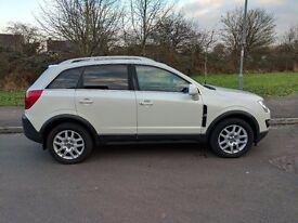 Vauxhall Antara 2.2 AWD CDTi, 2012, White