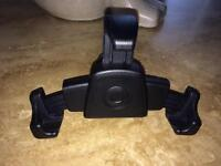 Smart car phone cradle