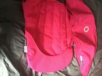 Bugaboo cameleon pink hood and seat liner