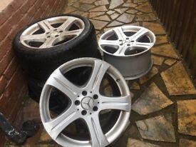 Merced's cod alloy wheels