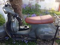 Moped/Scooter for spares Neco Abruzzi 125 2012 mileage 7266