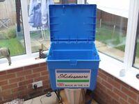 SHAKESPEARE SEAT BOX £15 + 6ft DOUBLE TRIPOD £15