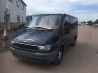 LEFT HAND DRIVE FORD TRANSIT,DRIVES PERFECTLY,HUGE LOAD SPACE,ENGINE & MECHANICS,PAPER SORTED.