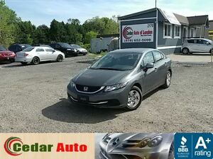 2013 Honda Civic LX - Cruise - Bluetooth - Heated Seats