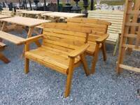 Quality wooden garden furniture and benches