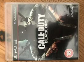 PS3 game. Black Ops