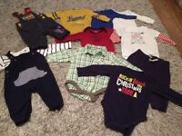 MASSIVE BUNDLE OF BABY BOYS CLOTHES. 3-6 MONTHS. 90+ ITEMS. MOST LIKE NEW. GREAT BRANDS.