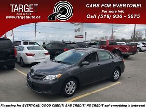2013 Toyota Corolla CE Plus PW PL Sunroof