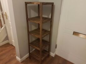 IKEA Wooden Shelving Unit