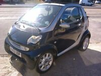 SMART CITY CABRIOLET. 52 REG. SEMI AUTO LOW MILEAGE
