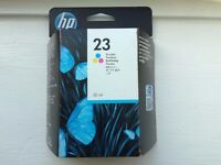HP23 Colour Ink Cartridge, High Capacity - Dated November 2017