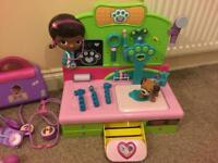 Doc McStuffins toy bundle - excellent condition