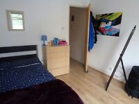 Very spacious room available just for September.