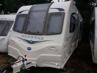 Bailey GT65 Bologna 2014 Twin Axle with motor mover and extras. Dealer serviced from new