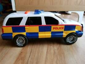 Kids Large Lights and Sounds Police Car
