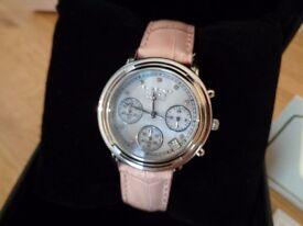 Krug Baümen 150572DL Ladies Principle Diamond / Pink Strap RRP: £195