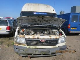 2003 LDV, 2.4L DIESEL, BREAKING PARTS ONLY, POSTAGE AVAILABLE NATIONWIDE