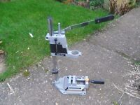 Clarke drill press stand .with vice
