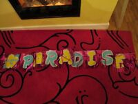 Hawaiian Party Package, Skirts, leis, head and arm bands, sunglassess and Paradise Banner
