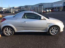 2005 VAUXHALL TIGRA 1.4 SPORT 2 DR CONVERTIBLE M.O.T 08/01/2019 PART EX BARGAIN NO OFFERS