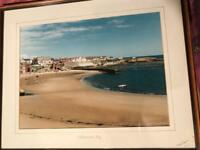 Framed Picture Of Cullercoats Bay