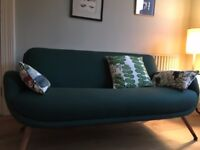 Green Mid century sofa