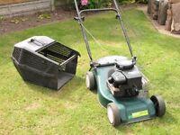 "Rotary Lawn Mower Petrol Briggs & Stratton Classic 35 15"" Blade Pull Start Instructions, Maintenance"