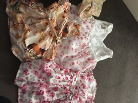Girls baby clothes some worn once